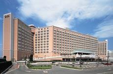 東京ベイホテル東急のピンクの外観
