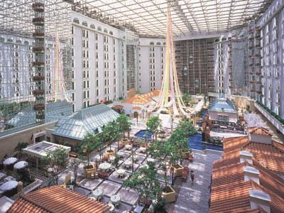 東京ベイホテル東急4300�uのアトリウム